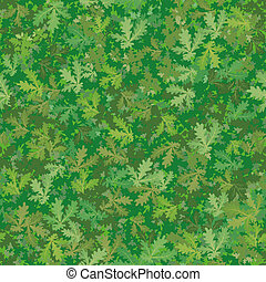 Seamless background, oak leaves - Seamless background,...
