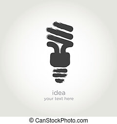 bulb light vector IDEA