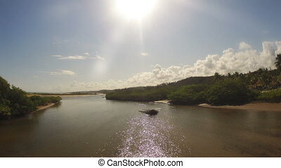 Time-lapse of Beach Lagoon