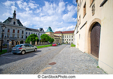 Archbishop castle in Kromeriz, Czech Republic - Archbishop...