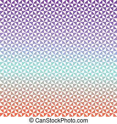 Triangles background in red, blue and purple colors