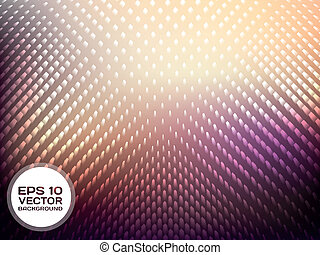 Holographic Abstract Background - Vector Holographic...