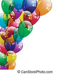 Colorfull Balloons Background