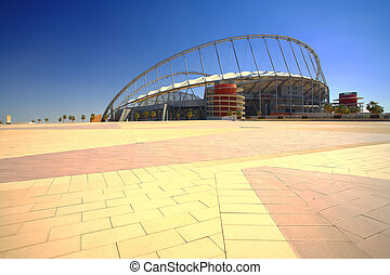 Khalifa sport stadium - Khalifa Kalifa sports stadium in...