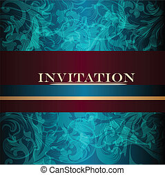 Elegant design of luxury invitation - Elegant classic...