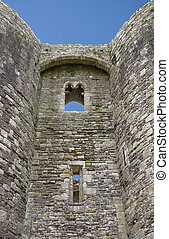 Beaumaris castle detail in Anglesey, North Wales