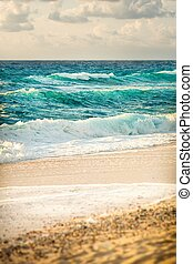 Sea a nd beach of Tropea - View of the beautiful beaches of...