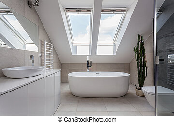 Urban apartment - bathroom - Urban apartment - white...