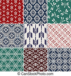 seamless japanese pattern - seamless japanese traditional...