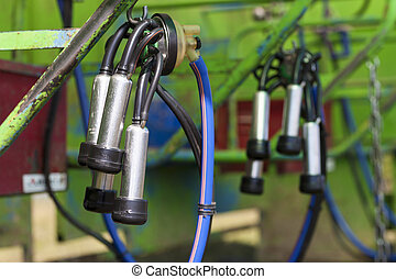 mechanical milker in agriculture industry