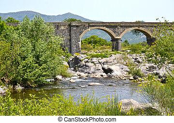 Alcantara, gorges, -, Sicile