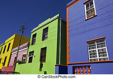 Cape Town - Bo Kaap in Cape Town, South Afica