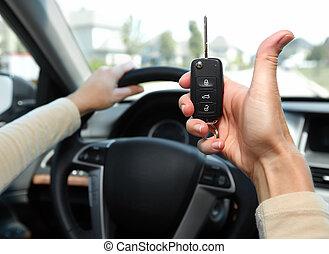 Car key.
