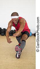 Leg push ups