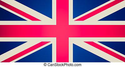 Union Jack - Vintage look UK Flag Union Jack