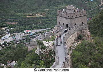 the Great Wall of China - Great Wall of China Four million...