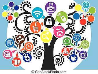 social media, app, apps, camera, chat