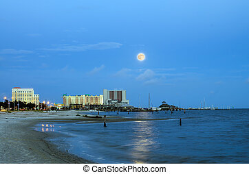 Biloxi casinos and buildings - Biloxi, Mississippi, casinos...