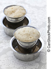 south indian filter coffee in a dab - Madras filter coffee...