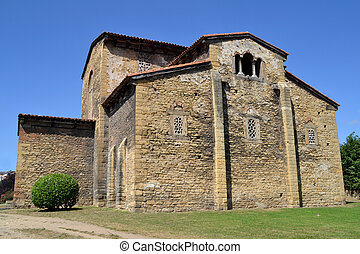 Church of San Julian de los Prados, Oviedo - Asturias...