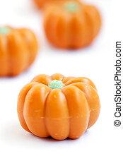 Halloween pumpkin candy