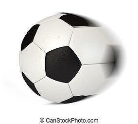 Soccer Ball in Motion