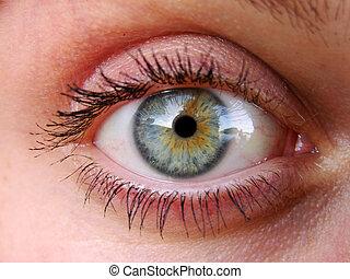 eye - Beautiful eye of young girl...