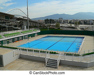 olympic swimming pool - the outdoor swimming pool of the...