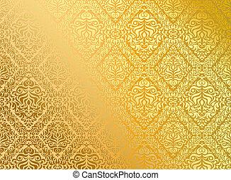 Seamless wallpaper, vector illustration