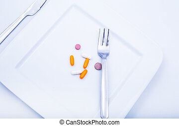 Dietary Supplementation - Pills or medication as a dietary...