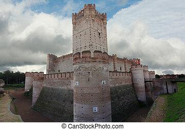 Historic Castillo de la Mota (XV century) in Medina del...