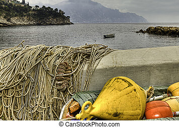 Conca dei marini fishing village Italy