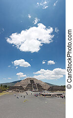 Pirmide de la Luna in Teotihuacan