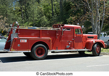 old fire truck 3