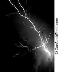 Bright lightning in dark