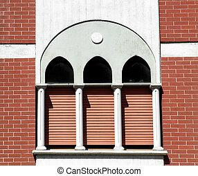Neo gothic window