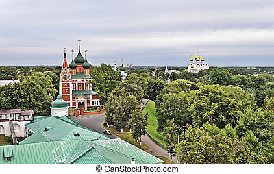 Church of St Michael the Archangel in Yaroslavl, Russia 17th...