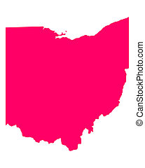 Map of Ohio