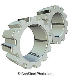 Silver gears