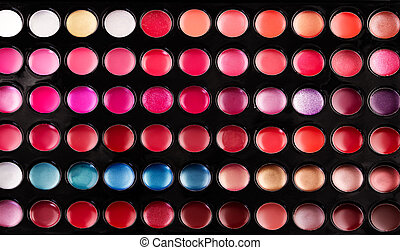 Lip gloss palette