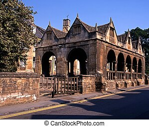 Market Hall, Chipping Campden. - The Market Hall, Chipping...