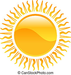 Clipart sun icon - Weather icon clipart sun illustration