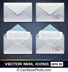 Vector E Mail Icons