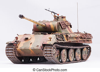 quot;Pantherquot; tank - German tank Panther in World War II...
