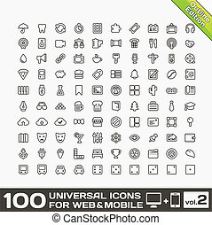 Universal Icons For Web and Mobile