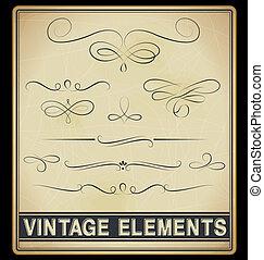 Vector Set: Vintage Design Elements