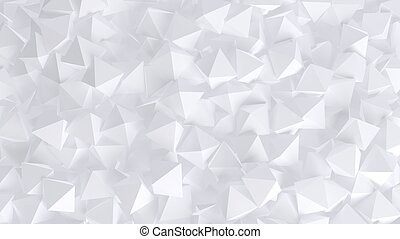 Abstract white rhombus background