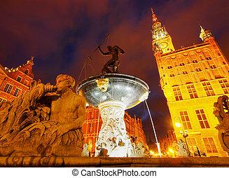 targ, Polen, gata,  dlugi,  Gdansk