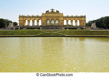 Gloriette Schoenbrunn Palace  Vienna