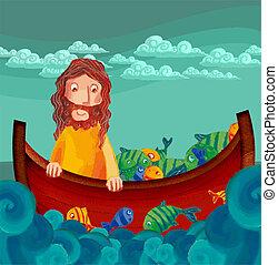 rybak5 - grafika rybaka